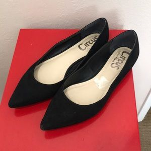 Circus by Sam Edelman Black Pointed Flats Shoes 8